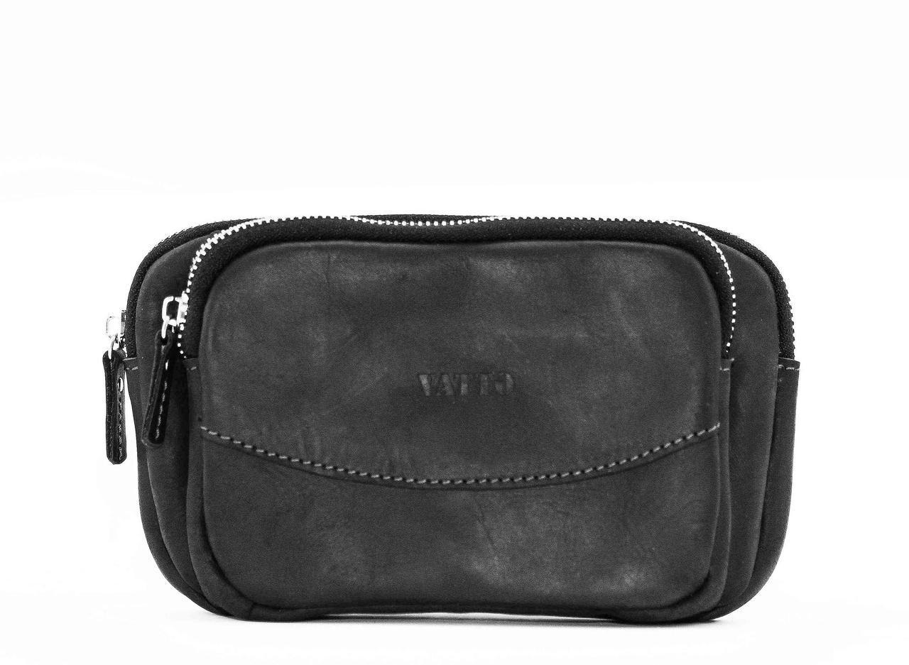 6b9a5d2c1539 Мужской кожаный клатч VATTO Mk-12.1Kr670 черный - Интернет-магазин сумок,  рюкзаков