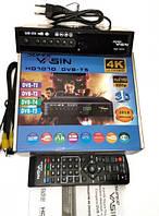 Эфирный тюнер Т2 SUPER YASIN HD7070 - WIFI, IPTV, Megogo, металлический