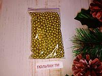 Посыпка сахарная золото 7мм 10г