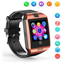 UWatch Умные часы Smart Q18 UWatch NFC Gold