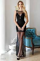 Смелое платье-сетка Gepur 23836