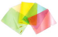 Файл-папка, «уголок», A4, плотная, PР, цв. в ас., 4-245, 4OFFICE