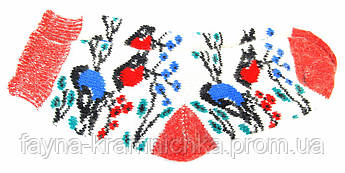 """АCH91609 Шкарпетки жін. """"Альпака"""" пташки вовн 80% акріл20%  різнокол"""