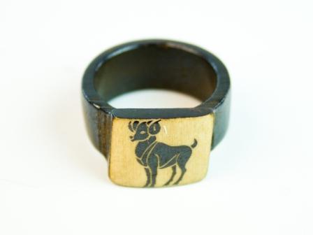 Перстень Перстень Yakbone / Зодиак / Овен 0.0 x 0.0 x 0.0 см