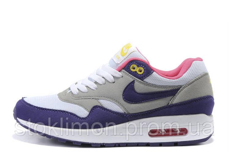 8cb82933 Женские кроссовки Nike Air Max 87 03W размер 36 Серо-синий  (Ua_Drop_109774-36
