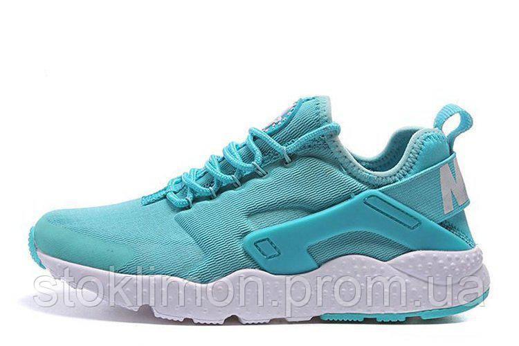 4d3203b7 Женские кроссовки Nike Huarache Ultra Bright Turquoise W размер 36  Бирюзовый (Ua_Drop_116572-36)