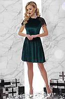 Платье Диана S, изумруд