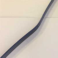 Лист рессоры № 1-3 КрАЗ задний 1550мм 255Б-2912101