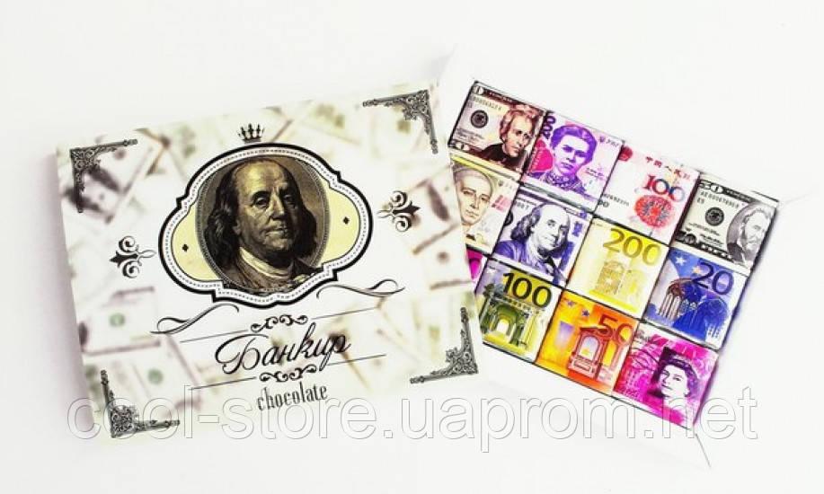Шоколадный набор Банкир