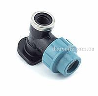 """Колено настенное 25х1/2"""" резьба внутренняя для полиэтиленовых пнд труб (Santehplast), фото 1"""