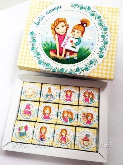 Шоколадный набор Любій матусі