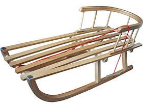 Санки деревянные WOOD