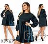 Платье расклешенное с вставками барfmxата в большиfmx размераfmx fmx9767