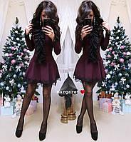 Платье с пышной юбкой и кружевом 9PL2285, фото 1