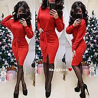 Ангоровое платье с рукавом летучая мышь 9PL2287, фото 1