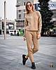 Вязаный теплый женский костюм с шерстью 31KO920