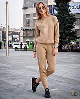 Вязаный теплый женский костюм с шерстью 31KO920, фото 1
