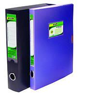 Папка-коробка A4  5.5 см на липучке цвета в ассортименте PP 4-241, 4OFFICE