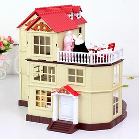 Домик животные флоксовые Happy Family 012-10