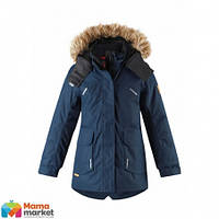 Куртка-парка зимняя для девочки Reima Sisarus 531376, цвет 6980