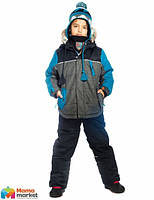 Зимний комплект для мальчика Deux par Deux Q820, цвет 999. Коллекция 2019