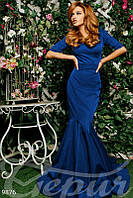 Длинное вечернее платье Gepur 9876