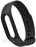 Ремешок для браслета Mi Band 2 (Silicon) Black