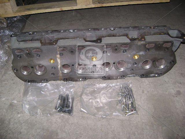 Головка блока двигатель ЯМЗ 238 (нов. обр) б/клап. (пр-во ЯМЗ), 238-1003013-Ж3