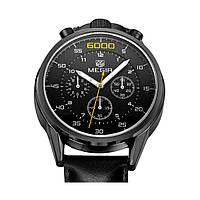 Часы Megir MG3005 Black (ML3005G-BK-1)