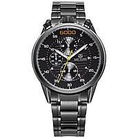 Часы Megir Black MG3005 (MS3005G/BK-1)
