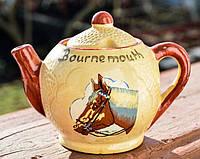 Оригинальная горчичница, солонка! Чайник! Конь!
