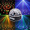 Светодиодный диско шар MP3 LED Crystall Magic Ball Light светомузыка