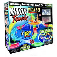 Конструктор гибкая гоночная трасса Magic Tracks большой (360 деталей) машинки автотрек магик трек