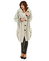 Пальто Styllo F190 One-Size Світло-сірий (F190-1)