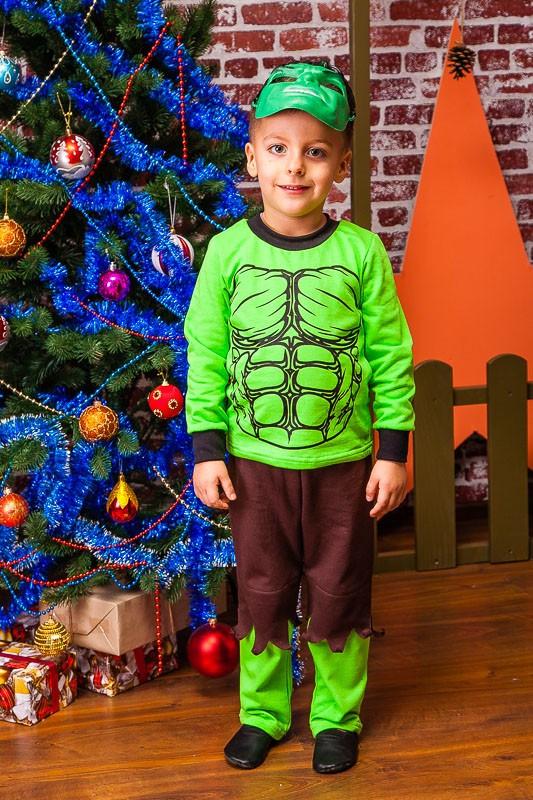 Халк карнавальный новогодний костюм Размер 104 см, 116 см