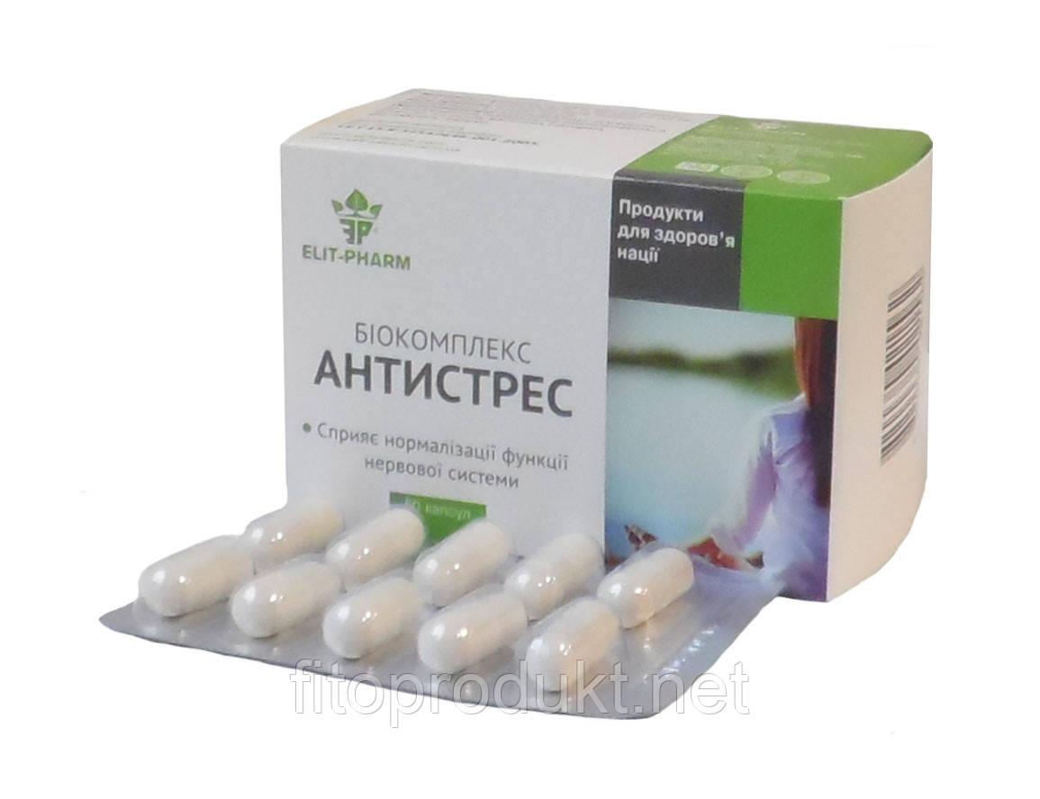 Антистресс Биокомплекс добавка Элит-фарм №50