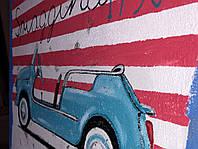 Картина винтажного автомобиля 45х60