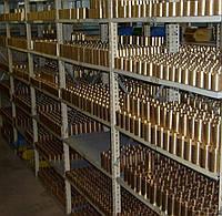 Втулка бронзовая БрА9Ж4Л, минимальная стенка 7 мм, под заказ от 5 до 7 дней.