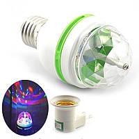 Новогодняя LED Лампа светодиодная диско лампа светомузыка
