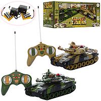 Радиоуправляемый Танковый бой, 2 больших танка в наборе, фото 1