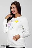 Свитшот для беременных и кормящих BLINK BUNNY SW-48.181 молочный, фото 5