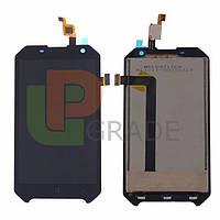 Дисплей для Blackview BV6000/BV6000s + тачскрин, черный