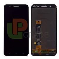 Дисплей для HTC One X10 + тачскрин, черный
