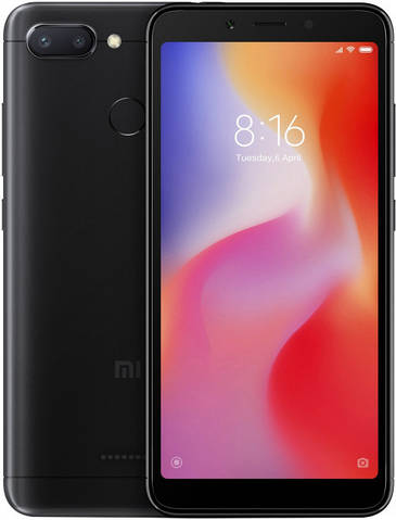 Xiaomi Redmi 6 4/64Gb EU Black
