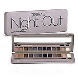 Тени Beauty Creations Night Out Eyeshadow Palette (12 цветов)