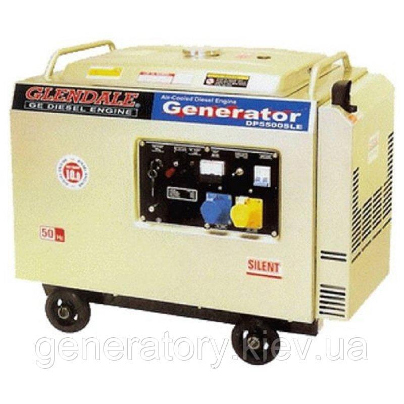 Генератор Glendale DP6500SLE/3 Авт.запуск АКБ