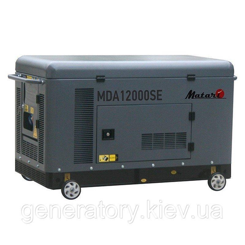 Генератор Matari MDA12000SE-ATS