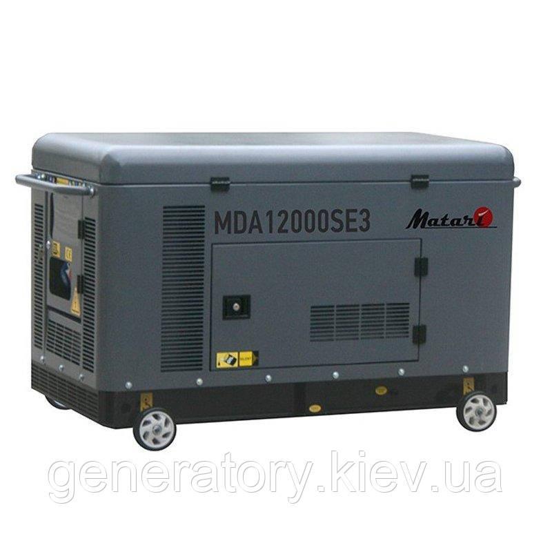 Генератор Matari MDA12000SE-3