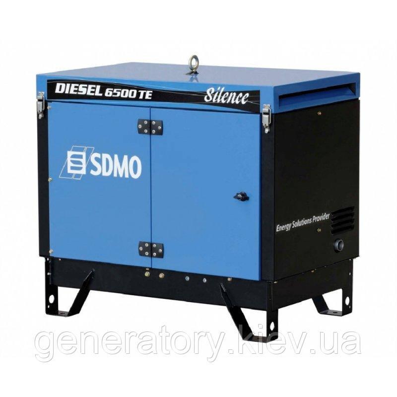 Генератор SDMO Diesel 6500 TE Silence AVR