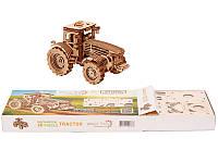 Конструктор деревянный Трактор  3D. Wood trick пазл. 100% ГАРАНТИЯ КАЧЕСТВА!!! (Опт,дропшиппинг)